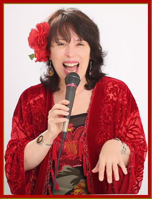 photo of Gina singing