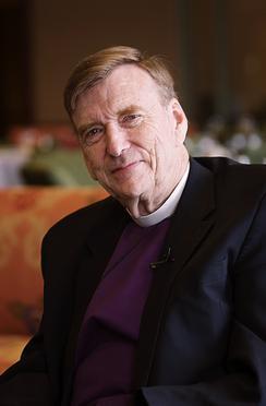 Portrait of Episcopal minister John Shelby Spong