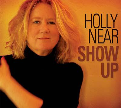 "photo of Holly Near on the cover of her latest CD ""Show Up"""