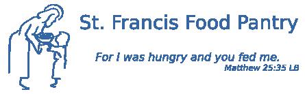logo for Saint Francis food pantry
