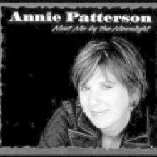 photo of Annie Patterson on her album cover