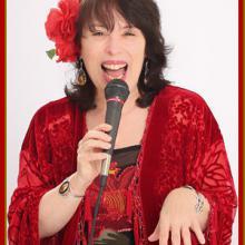 photo of Gina singing