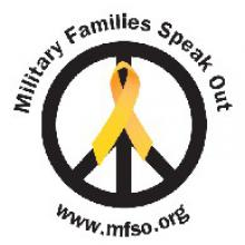 logo for Military Families Speak Out
